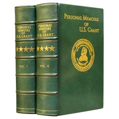 'Book Sets' 2 Volumes, Ulysses S. Grant, Personal Memoirs