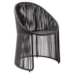 Black Cartagenas Dining Chair by Sebastian Herkner