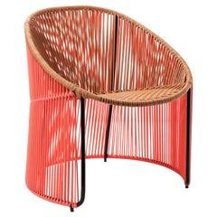 Coral Cartagenas Lounge Chair by Sebastian Herkner