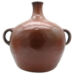 Maya Mam Large Red Jar Pre Columbian Design, Indigenous Pottery
