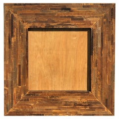 Large Square Wooden Frame for a Mirror or Artwork