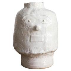 "Atelier MVM Vase, ""Mientse"" in Glazed Pottery"