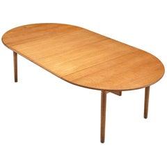 Hans Wegner Extendable Dining Table PP70 in Oak