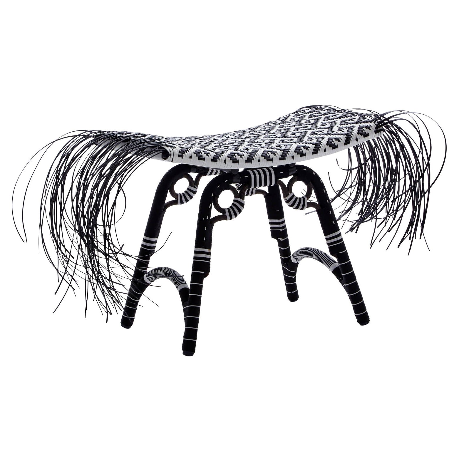 Libra 'Hook pattern', Tribal Stool