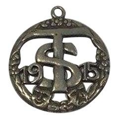 Mogens Ballin Eftf Silver Pendant '1915'