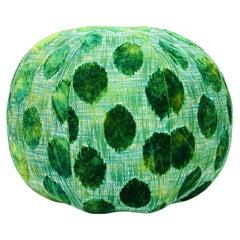 Giant Green Pouf Ottoman