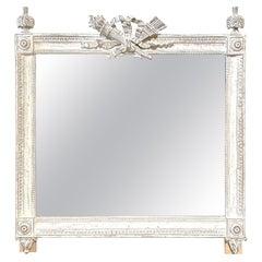 French Louis XVI Style 19th Century Large Mirror