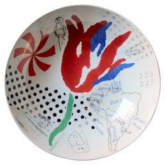 Donald Baechler Porcelain Cup