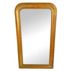 Louis Philippe Gilt Mirror, 19th Century