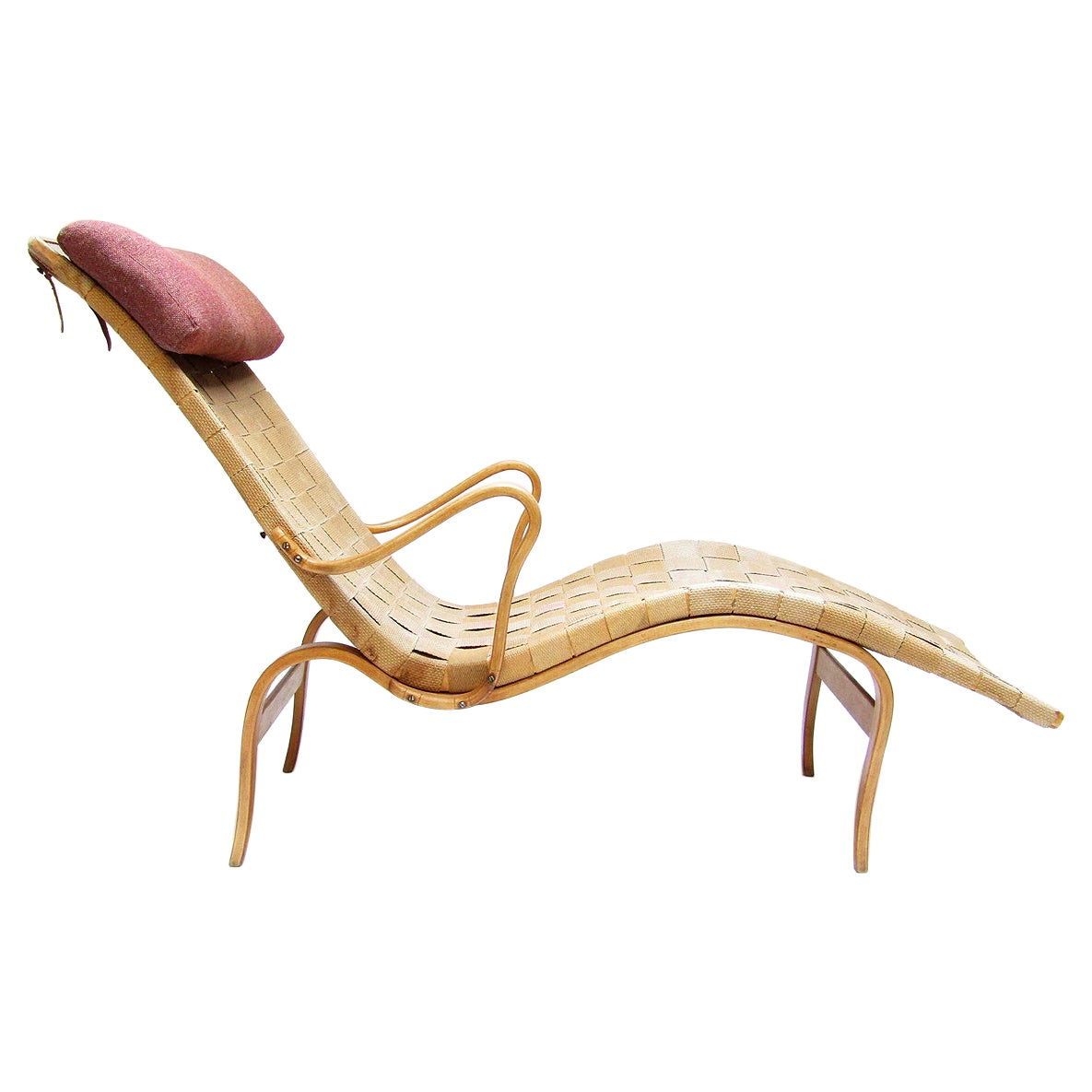 """Vintage 1940s """"36"""" Pernilla Chaise Longue by Bruno Mathsson"""