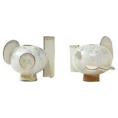 """Pair of """"Twyla"""" Vases by Robbie Heidinger"""