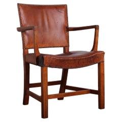 Early Kaare Klint 'Red Chair' in Oak for Rud. Rasmussen