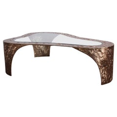 Large Bronze Coffee Table by Silas Seandel