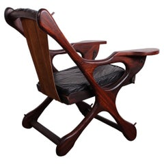"""""""Swinger Chair"""" in Rosewood by Don Shoemaker"""