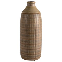 Wallåkra, Mid-Century Stoneware Vase, Sweden, 1950s