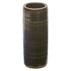 Wallåkra, Mid-Century Stoneware Vase, Sweden, 1960s