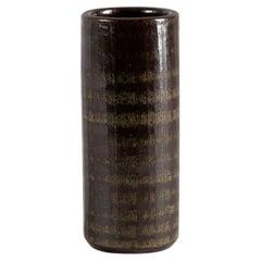 Arthur Andersson, Mid-Century Stoneware Vase, Sweden, c. 1960s