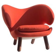 Finn Juhl Red Pelican Chair, Lounge, 1940, Denmark
