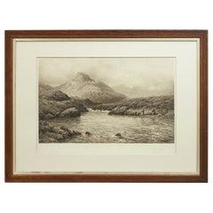 Douglas Adams Fishing Print, a Tight Line