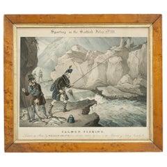 Fishing Picture, Sporting in the Scottish Isles, Salmon Fishing, William Heath