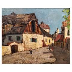 Hans Ruzicka Lautenschlaeger Oil on Canvas, 19/20th Century