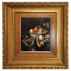 European School Oil on Canvas of 20th Century