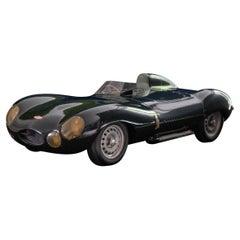 Model Jaguar D-Type Car, Circa 2000