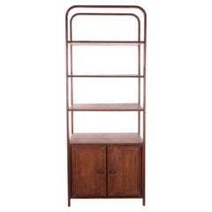 Sturdy Wall Unit Bookcase Made of Wood