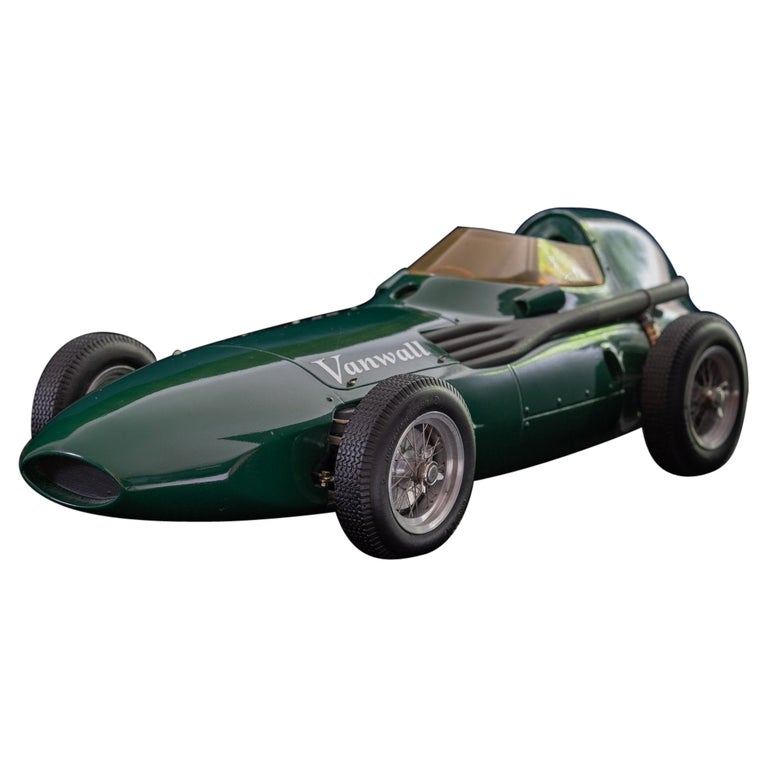 Model of the Formula One Vanwall Racing Car For Sale