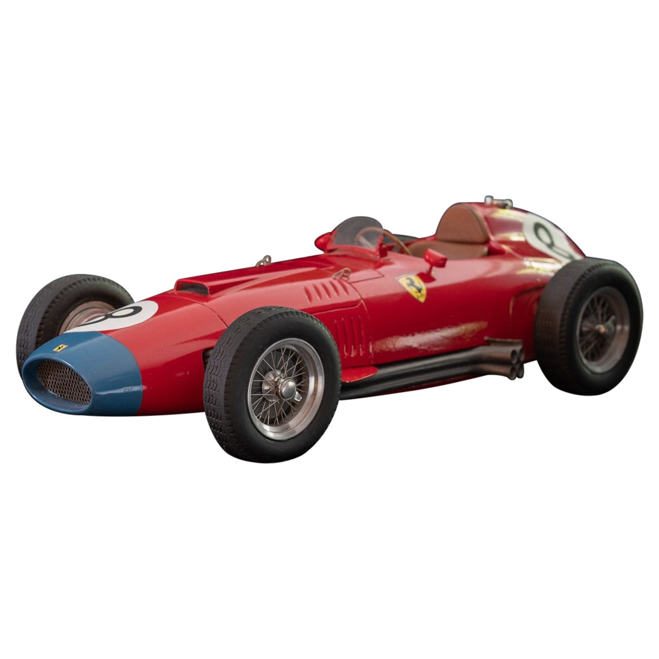 Model of the Ferrari 801 Racing Car
