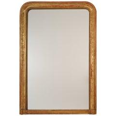 Louis Philippe Gold Leaf Mirror