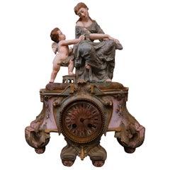 19th Century Porcelain Clock