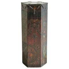Tibetan Scroll Box