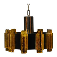 Danish Midcentury Pendant by Claus Bolby for Cebo