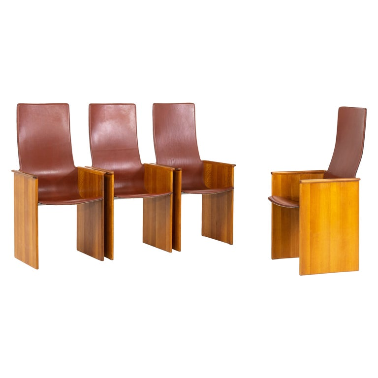 Arm Chairs by Afra and Tobia Scarpa, 1960s