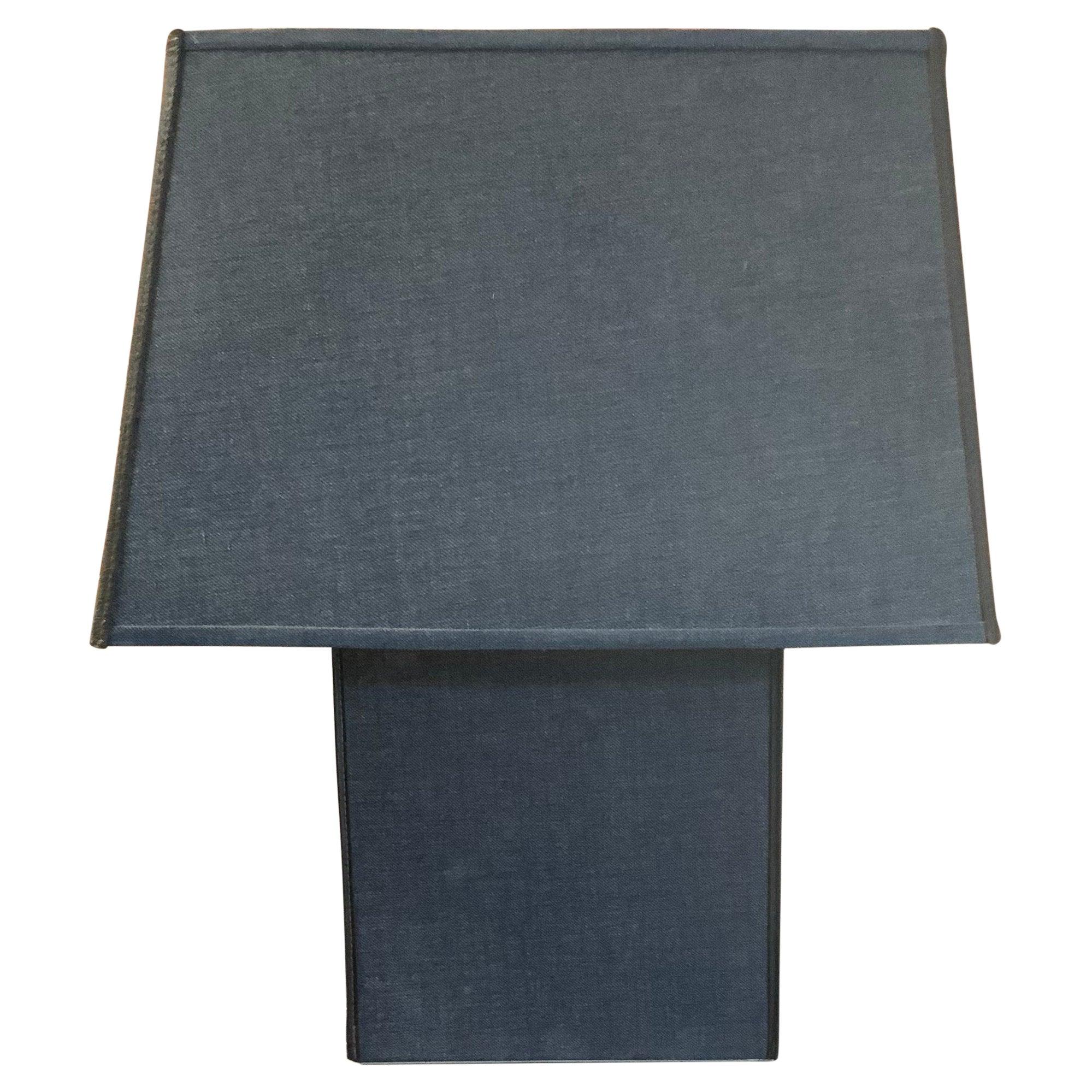 1970s Kovacs Denim Clad Table Lamp