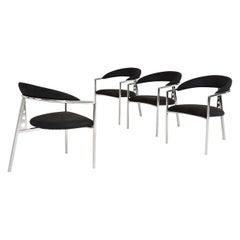 Brueton Post Modern Tripod Chairs, 1980's