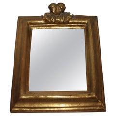 19thc Gilt Carved Mirror