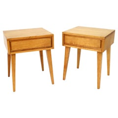 Pair of 'Modernmates' Night Stands by Leslie Diamond for Conant Ball