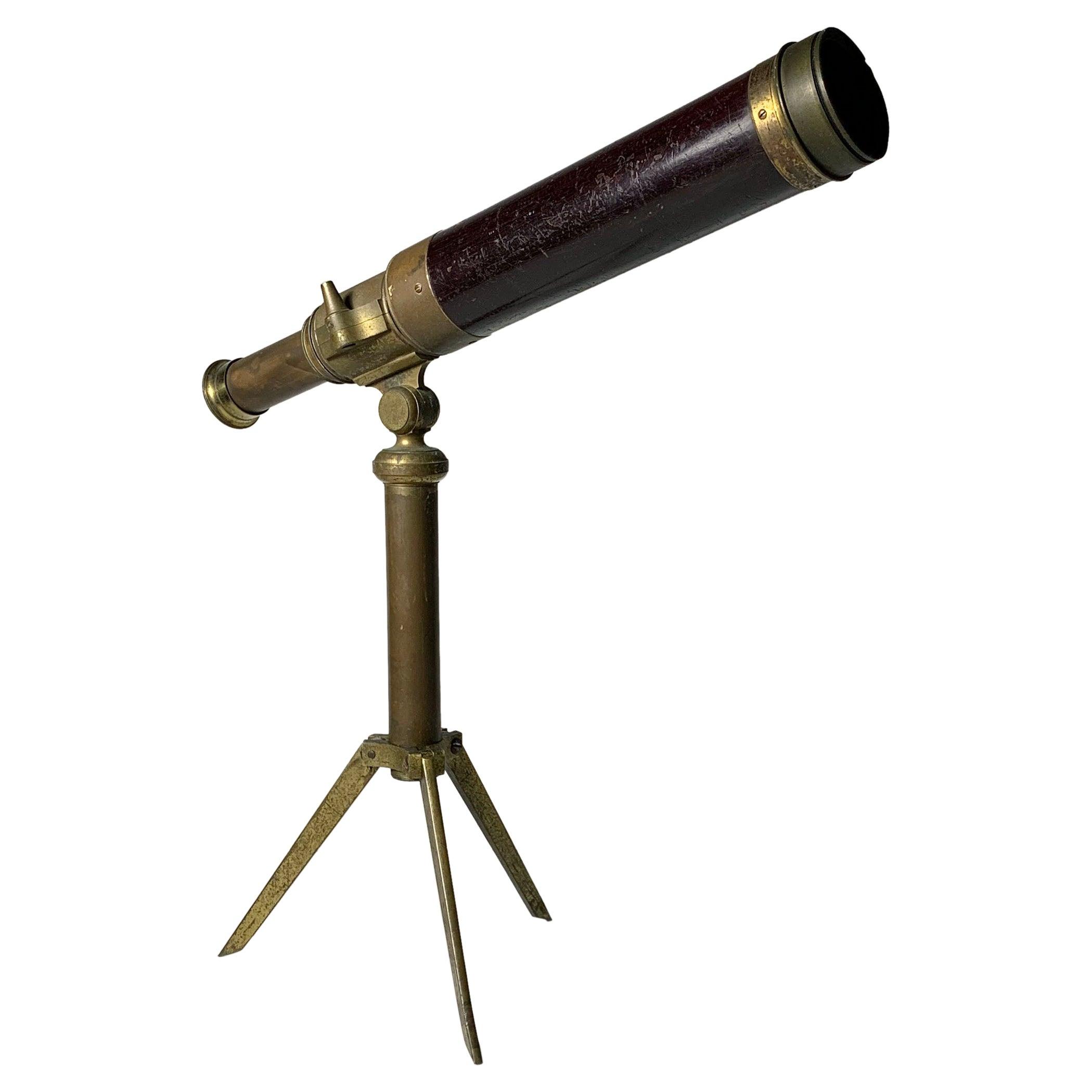 Charming Vintage Gentleman's Library Telescope