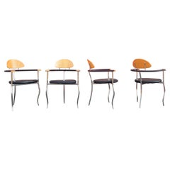 Arrben Italy Modern Dining Chair Model Marylin, Set of 4