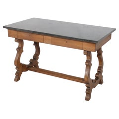 French Marble Top Desk