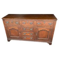 19th Century Welsh Oak Dresser Base
