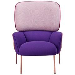 Cotton Armchair, Purple by Eli Gutiérrez