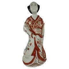Japanese Imari Bijin, Arita, Japan, c. 1690, Edo Period