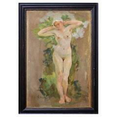 Nude Painting, Wilhelm Christens, 1930s