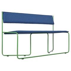 Trampolín Bench, Blue by Cuatro Cuatros