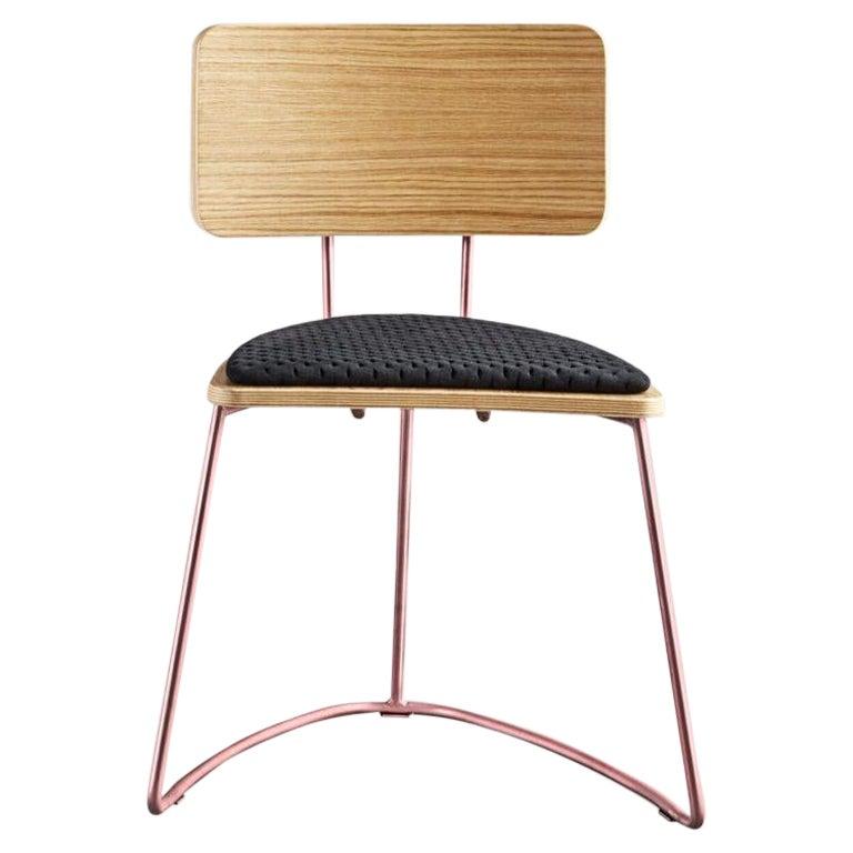 Boomerang Chair, Black by Cardeoli