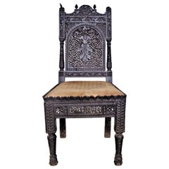 Antique Anglo Indian Chair