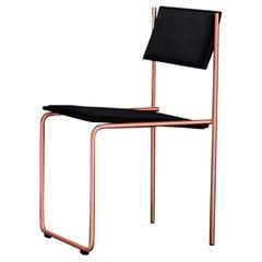 Trampolín Chair, Black & Copper by Cuatro Cuatros